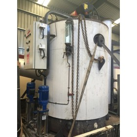 500 KW, S/H, Vertical East Coast Steam, Steam Boiler