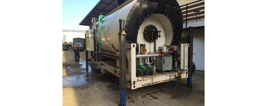 4 MW Trevor wet back, Fire tube, Steam Boiler