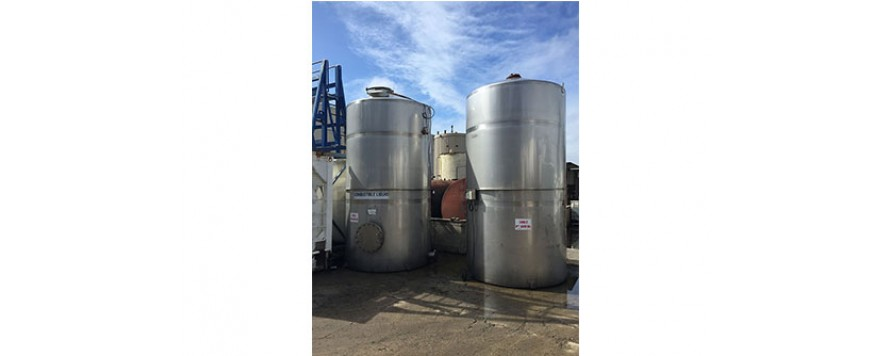 Boiler feed water tanks