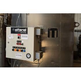 500 KW Vertical Alfaral, Light oil fired, Steam Boiler